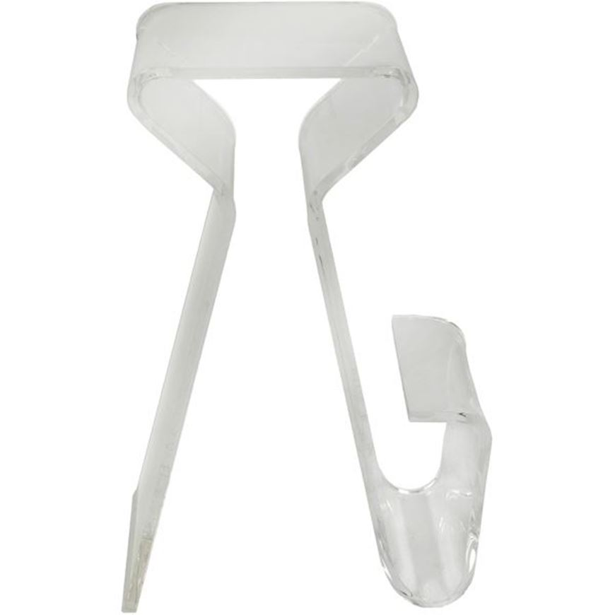 MAGINO stool 77x54 clear