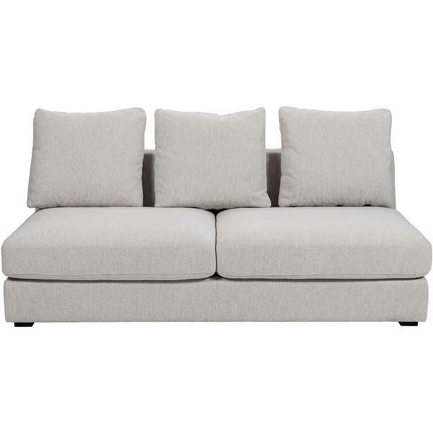 READ armless sofa 2.5 beige