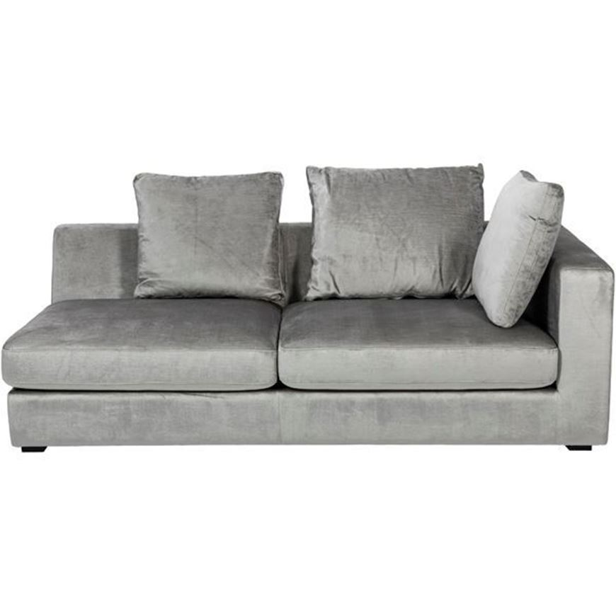 READ sofa 2.5 with Right arm grey
