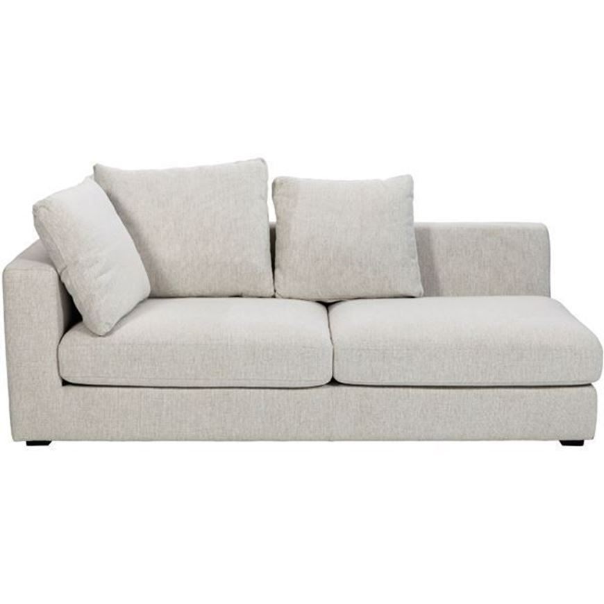 READ sofa 2.5 with Left arm beige