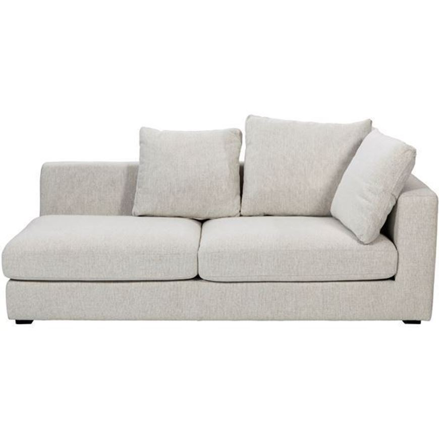 READ sofa 2.5 with Right arm beige