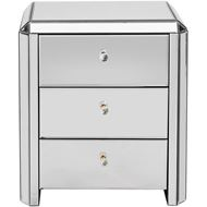 VERA bedside table clear