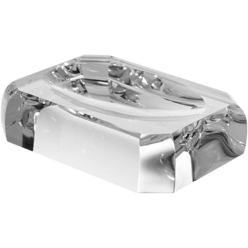 Picture of CELESTE soap dish clear