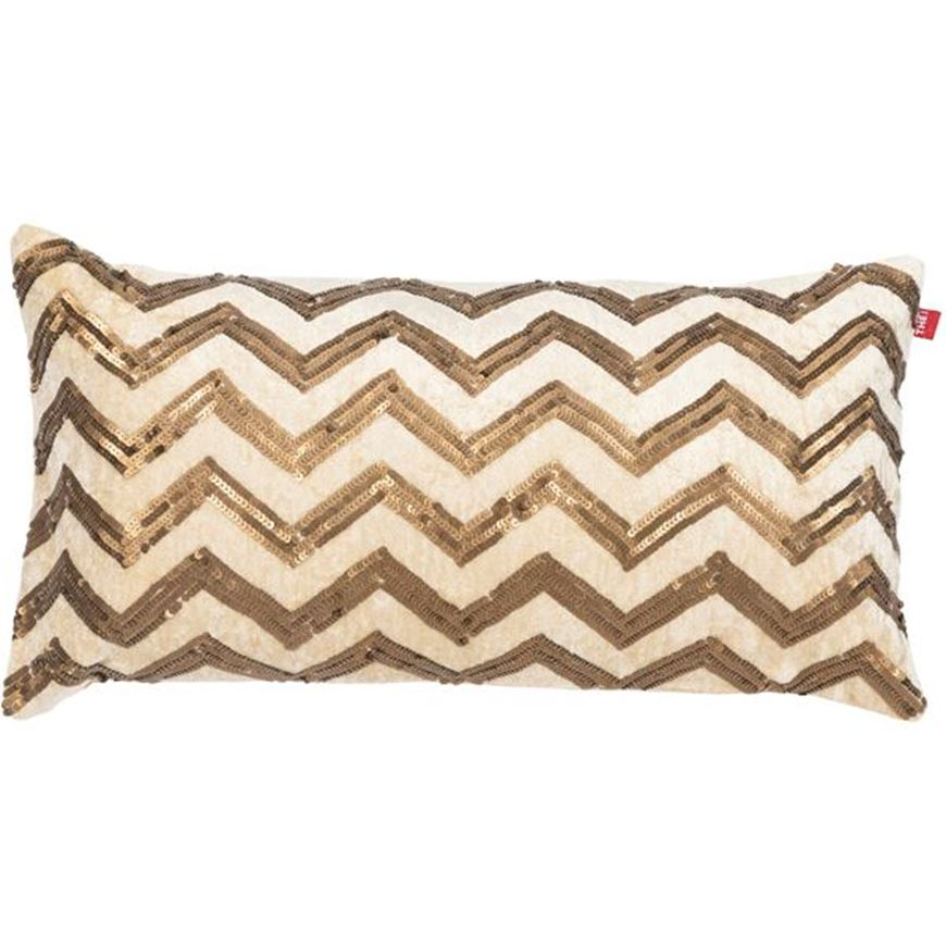 Picture of MISHTI cushion cover 30x60 gold