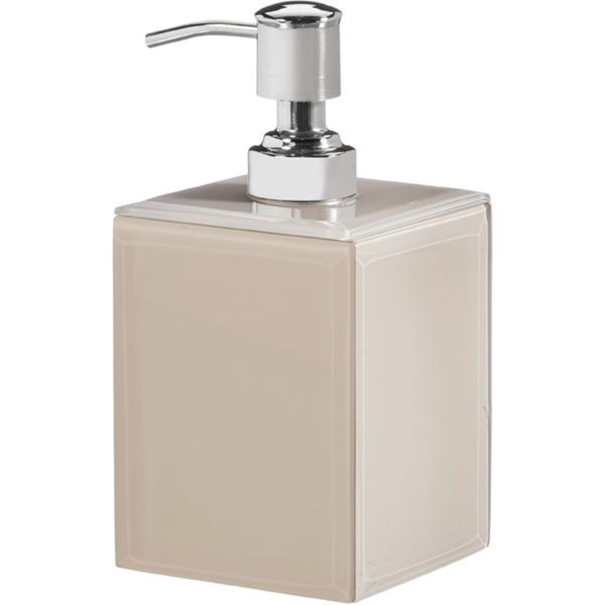 Picture of DENYA soap pump beige