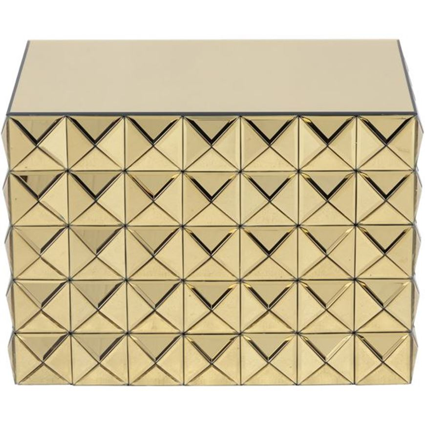 KINZ side table 59x43 gold