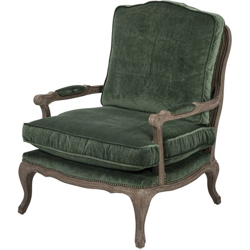Picture of KASE armchair green
