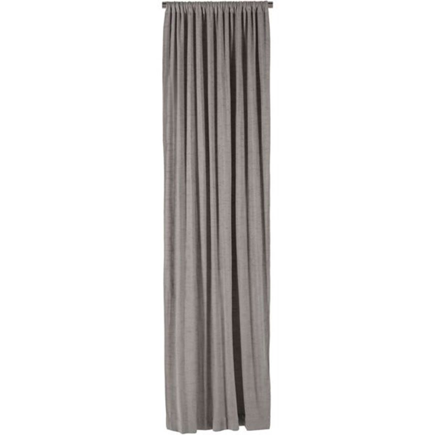 Picture of FUZZY curtain 106x275 grey