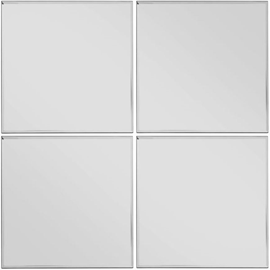 Picture of TOUR mirror 30x30 set of 4 clear