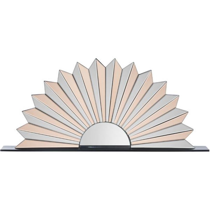 Picture of FAAN mirror decoration 50x110 clear/pink