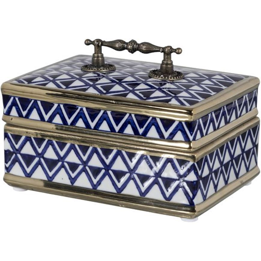 Picture of AVERY box 17x13 blue