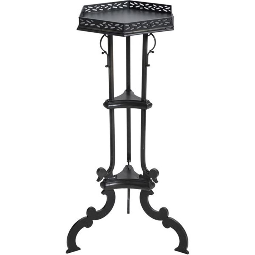 Picture of RUMI side table 44x38 black