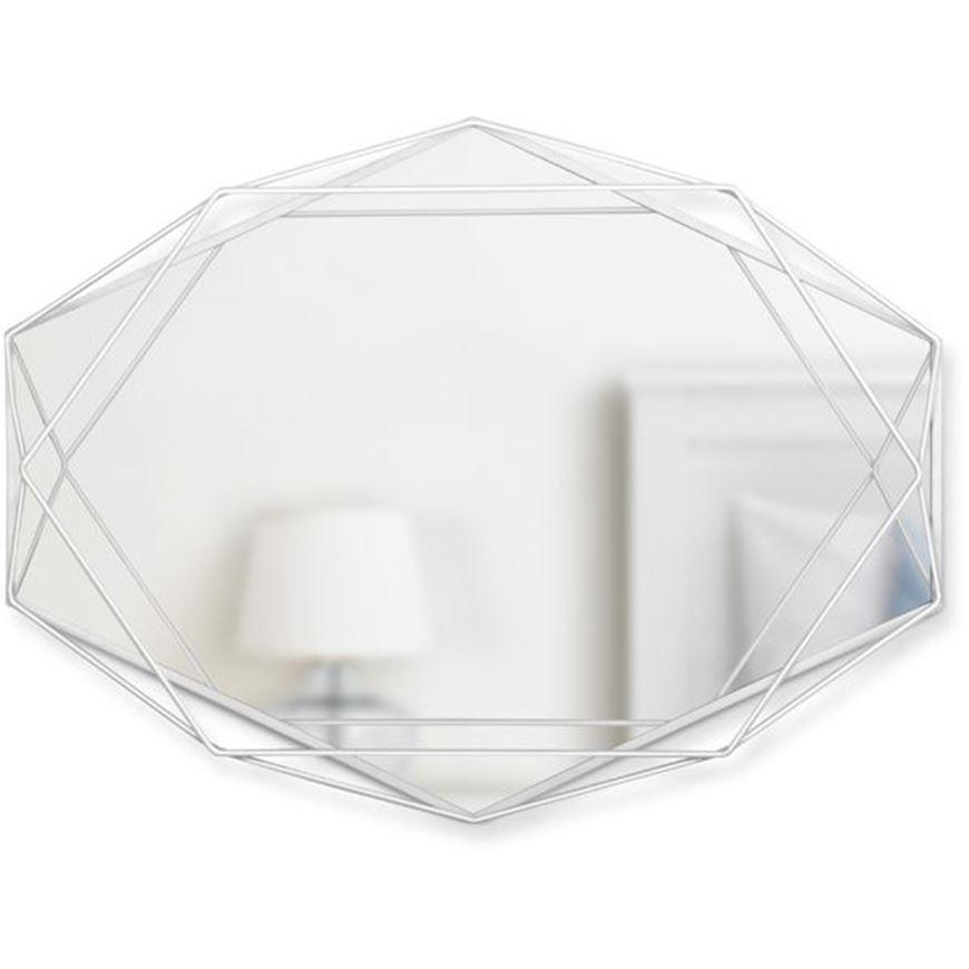 Picture of PRISMA mirror 57x43 white