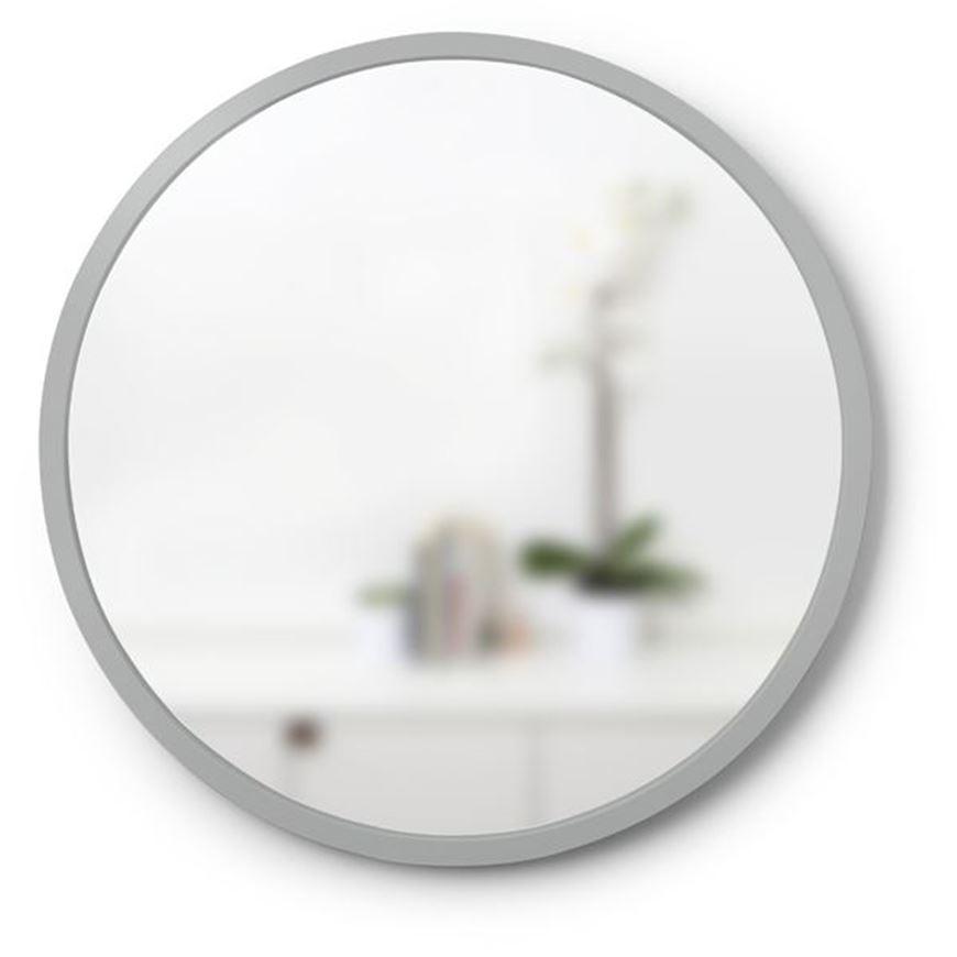 HUB mirror d46cm grey