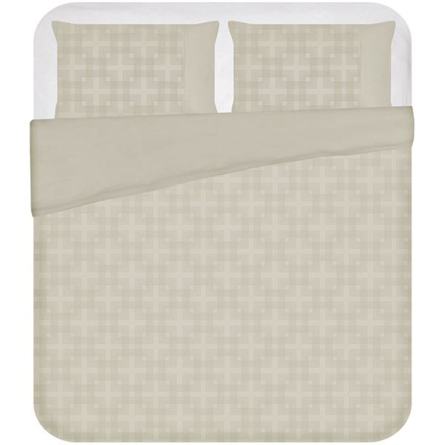 Picture of ADLEY duvet cover set of 3 cream