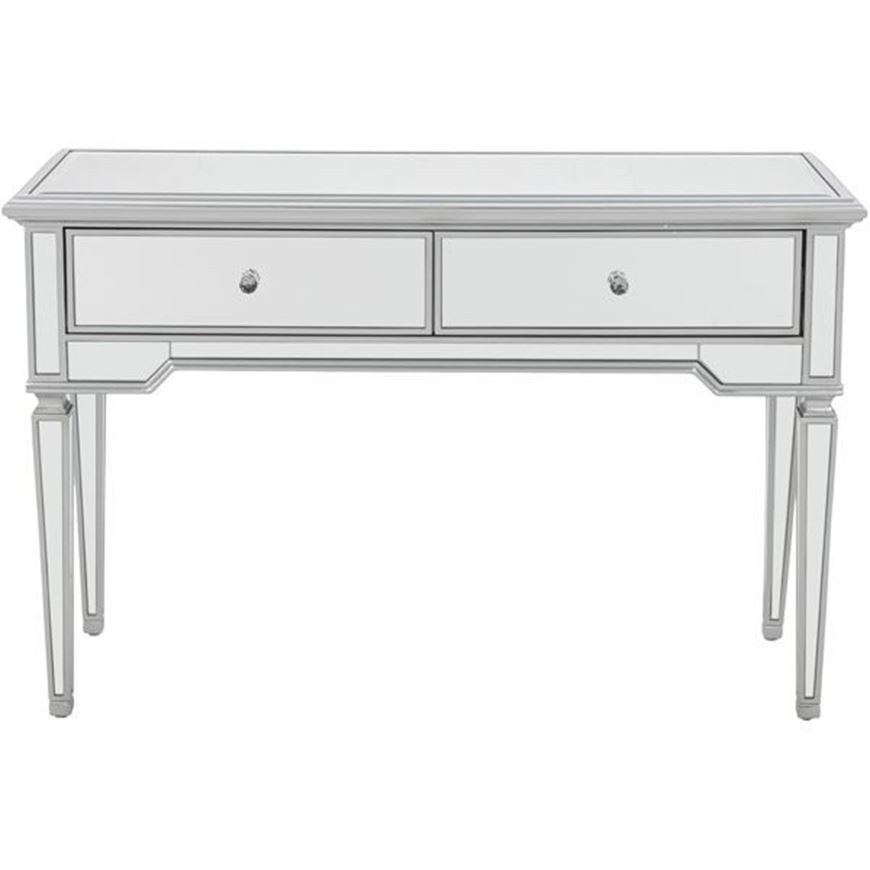 VANE console 120x42 clear/silver