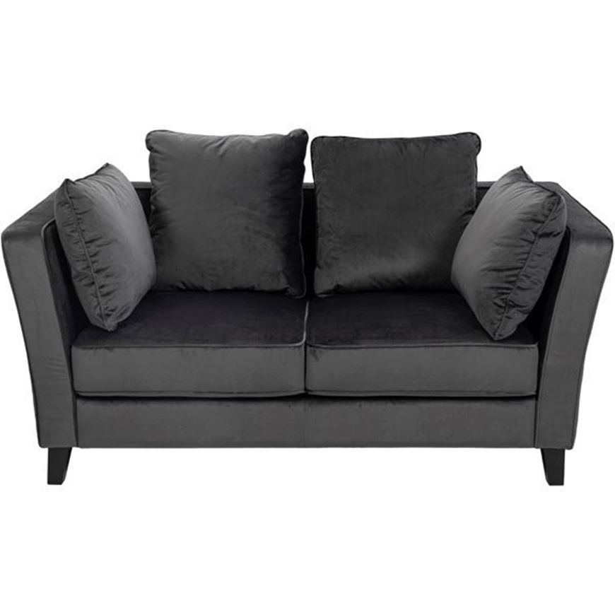 LOOS sofa 2 microfibre dark grey