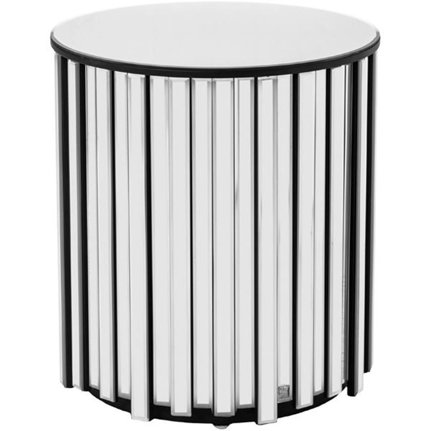 Picture of RIDER side table d45cm clear