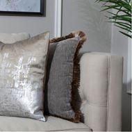 AUDREA cushion cover 45x45 grey
