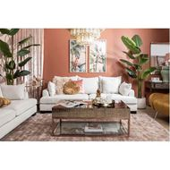 DIVA coffee table 120x60 clear/bronze