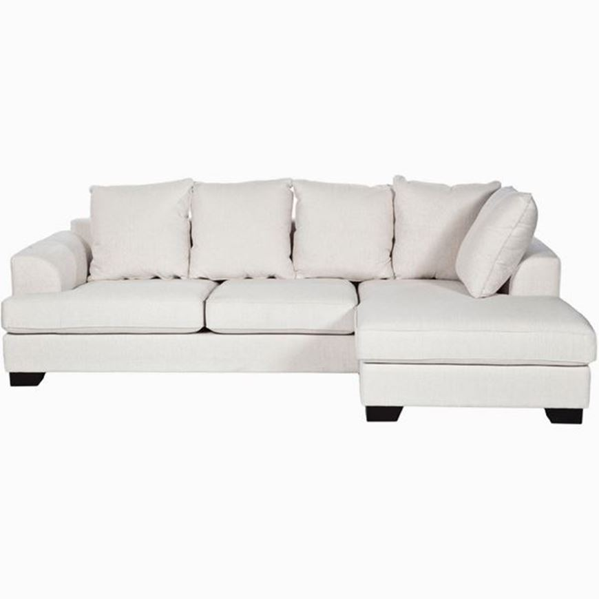 Sofa 2 5 Chaise Lounge Right White