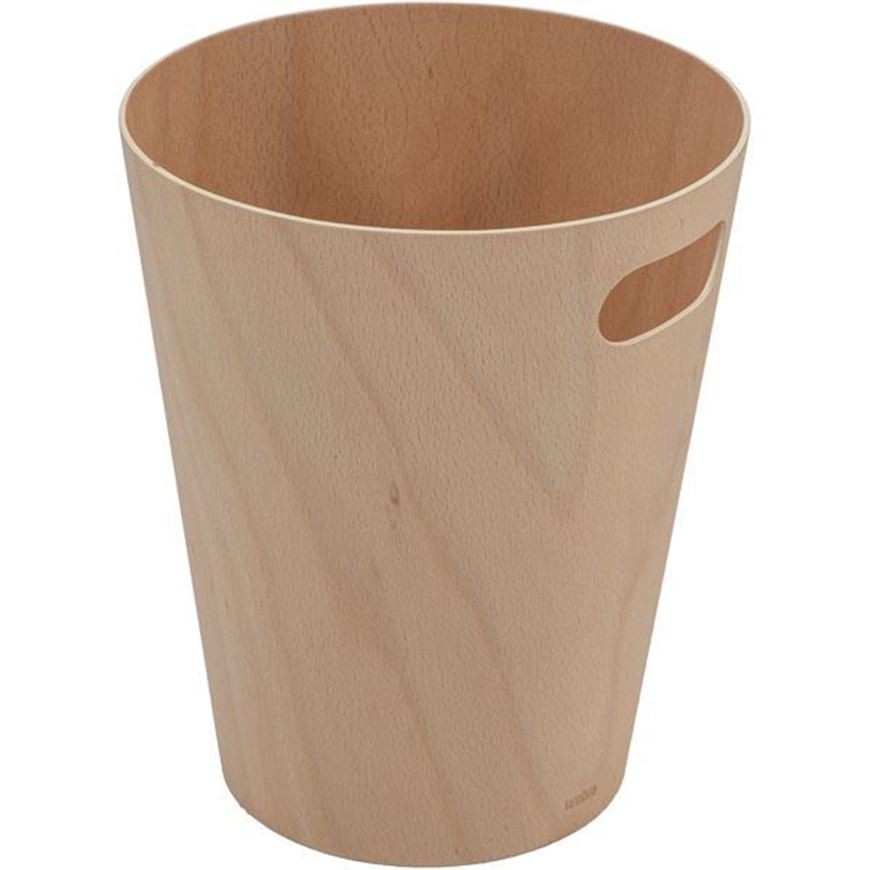 WOODROW waste can natural