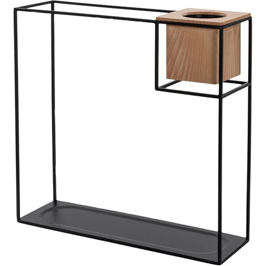 Picture of CUBIST display shelf 38x38 natural/black