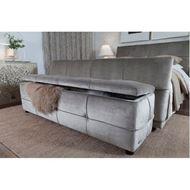 NAP stool 160x40 grey