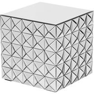 KINZ side table 43x43 clear