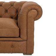 GAINSBOROUGH chair 1.5 leather brown