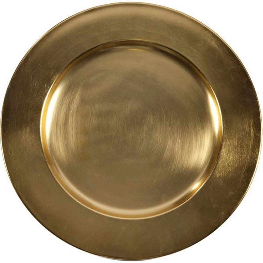 ALENA charger plate d35cm gold