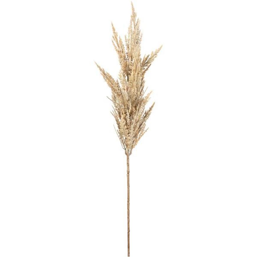PAMPAS grass stem h91cm white