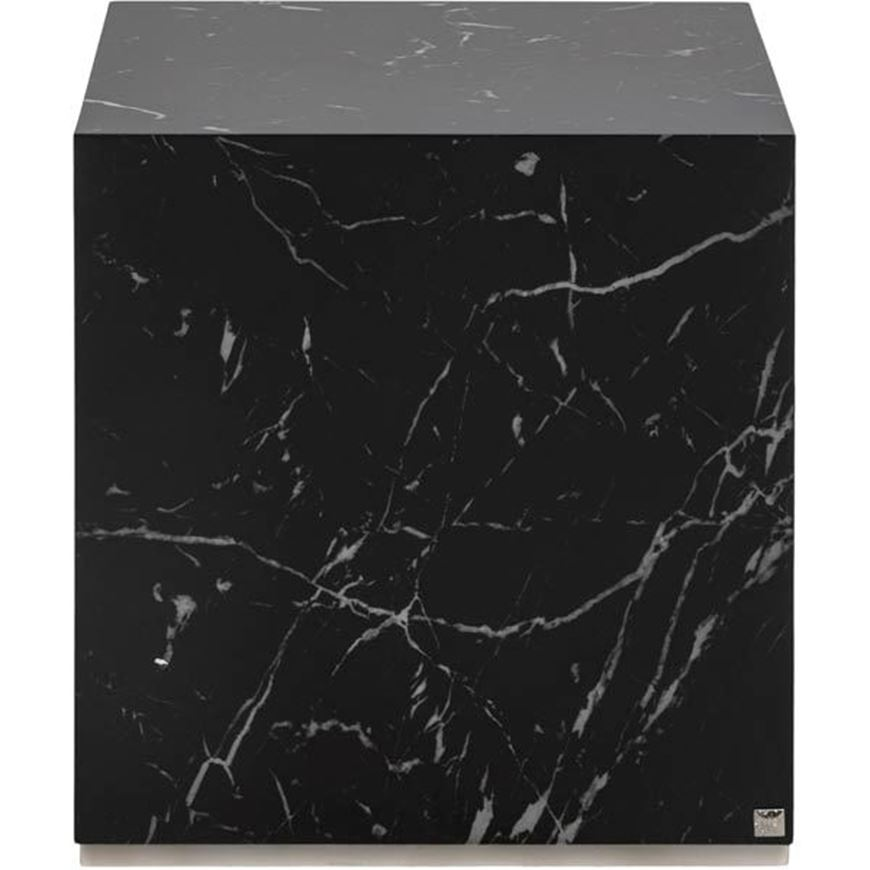 MARBO side table 40x40 black