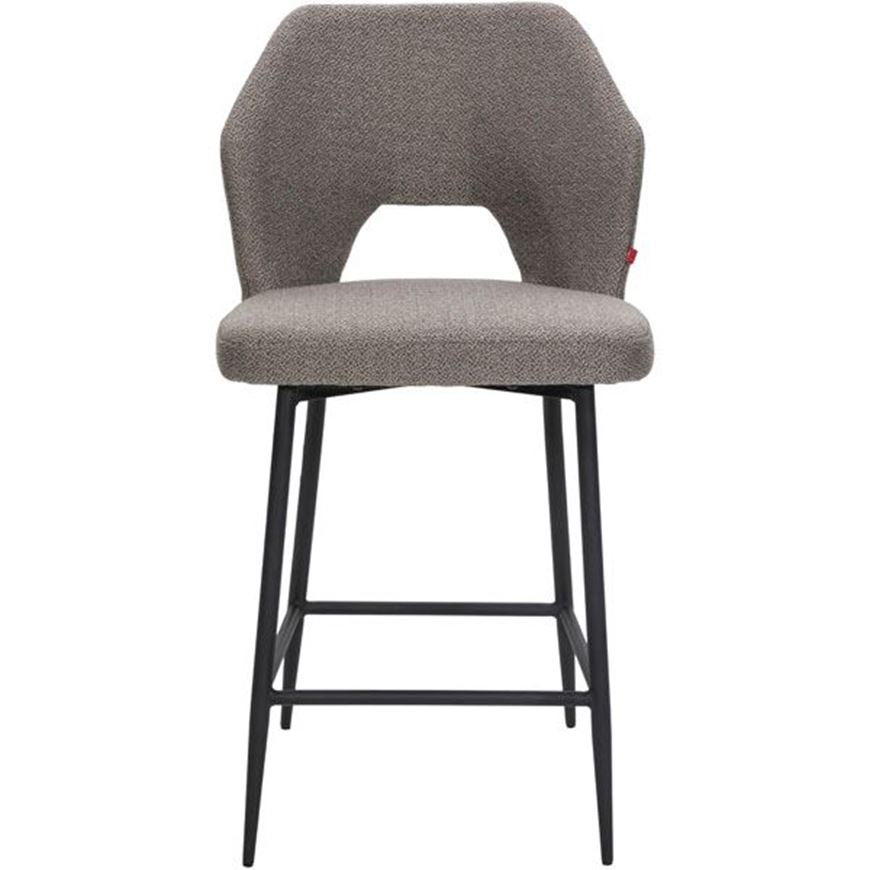 HOLD counter chair taupe/black