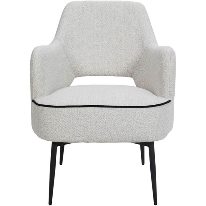 BEE armchair white