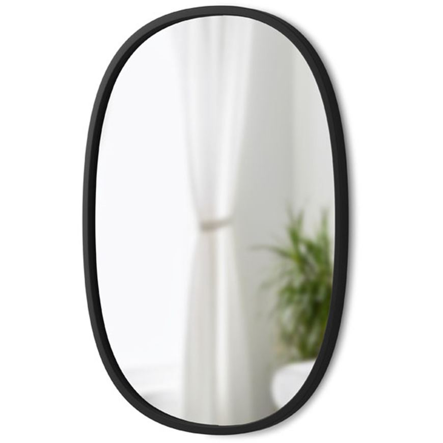Picture of HUB mirror oval 61x46 black