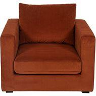 READ chair microfibre rust