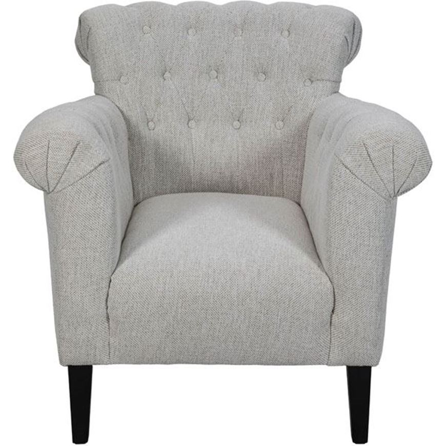 PACE armchair white