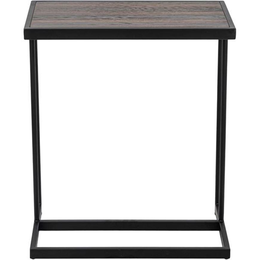 PACHA cocktail table 55x35 brown/black
