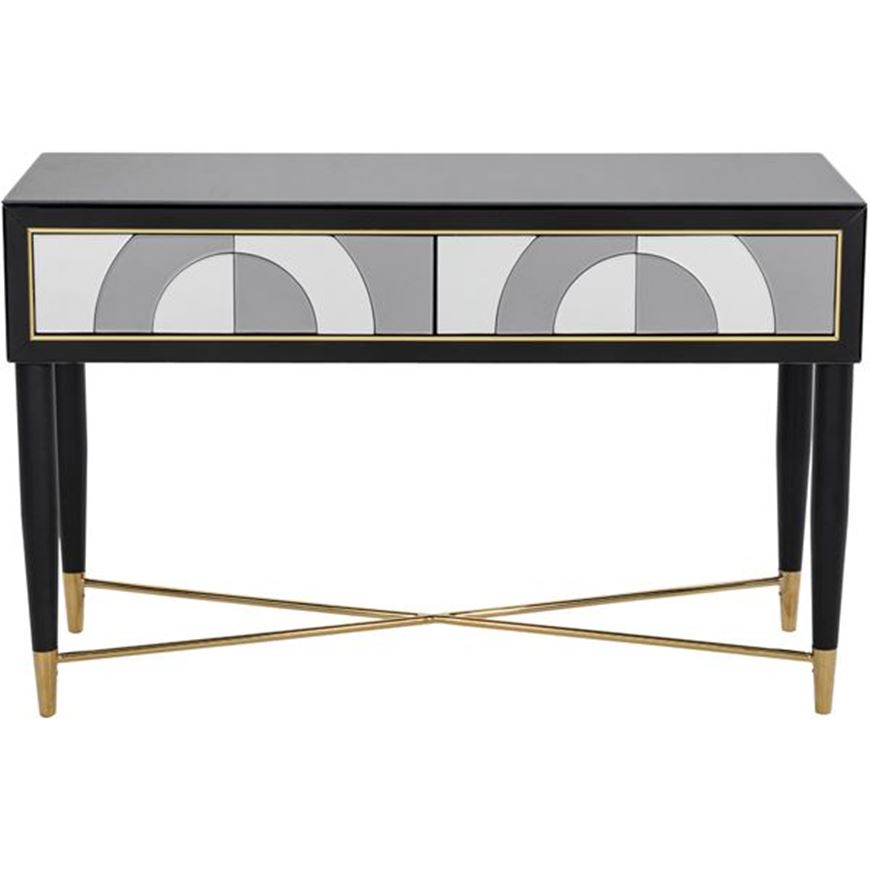 MOOD console 120x42 clear/black