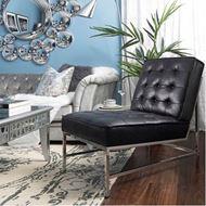 LASEY cushion cover 45x45 blue