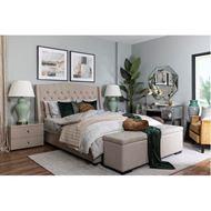 ANDY bedspread 230x250 cream