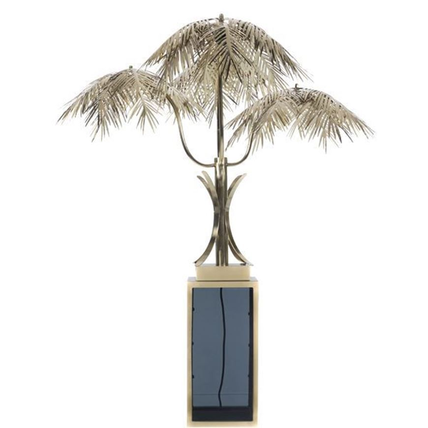PALM table lamp h110cm gold/black