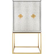 LOEN cabinet 180x95 clear/gold