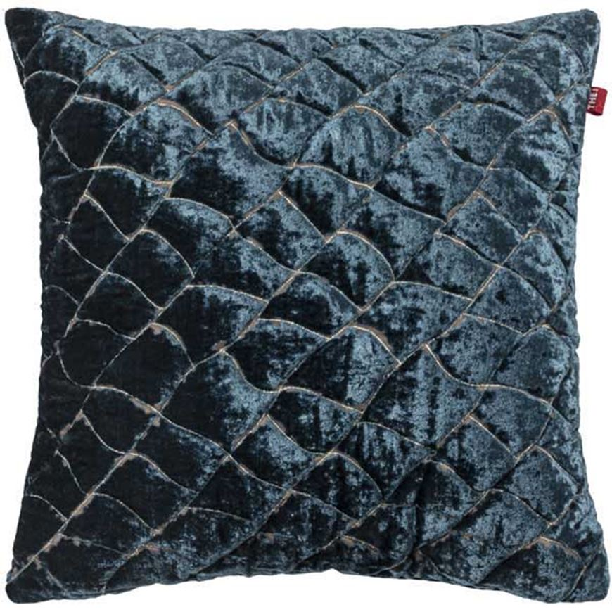 Picture of KAVA cushion cover 45x45 blue