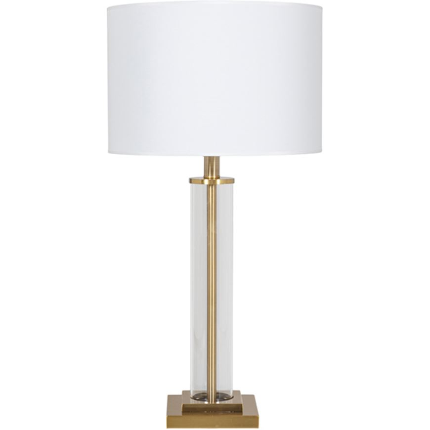 Picture of POST table lamp h82cm white/brass