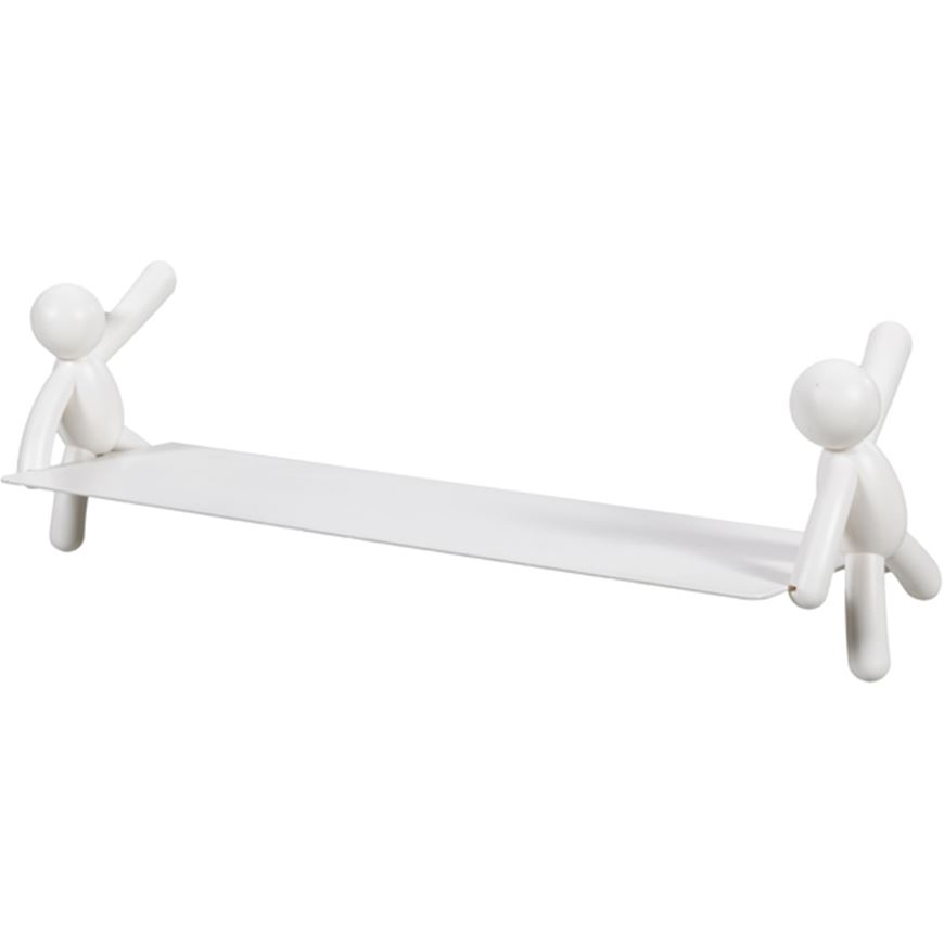 Picture of BUDDY wall shelf 46x14 white