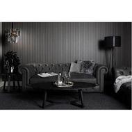 GAINSBOROUGH sofa 3.5 leather grey