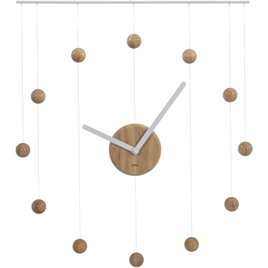 Picture of HANGTIME clock 64x74 white/natural