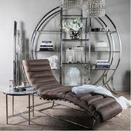 BOBO floor lamp h175cm clear/stainless steel